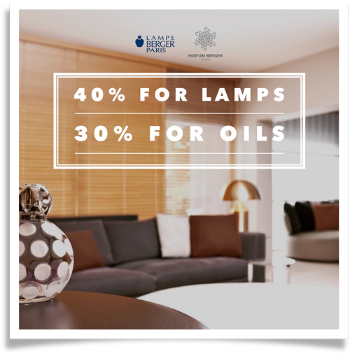 Lampe Berger Promotion Central Department Store Indonesia